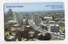 JORDANIE TELECARTE 15 JD AMMAN Date 1998 - Jordania
