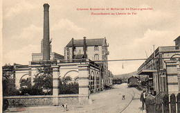 CP 54 Meurthe Et Moselle Champigneulles Grandes Brasseries Et Malteries Raccordement Au Chemin De Fer - Other Municipalities