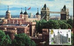 55067  England, Maximum 1978 ,  Architecture,  London The White Tower, Castle - Castles
