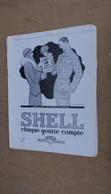 Pub  Huile Auto Shell,illustré Par René Vincent,echange De Bons Procédés - Advertising