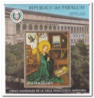 Paraguay 1970, Postfris MNH, Paintings - Paraguay