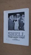 Pub  Huile Auto Shell,illustré Par René Vincent,les Belles Nuits De Paris - Advertising