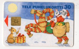 FINLANDE TELECARTE 30U NOEL Date 1997 - Finlandia
