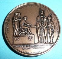 Médaille Bronze Napoléon 1er Premier, Honneur Légionaire Aux Braves Des Armées Bicentenaire 1804-2004 Légion D'honneur - Firma's