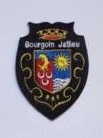 Ecusson à Coudre De Bourgoin-Jallieu (38) - Ecussons Tissu