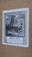 Pub Auto Berliet - Advertising
