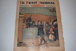 Le Petit Journal 30 Janvier 1927 Un Avocat De Dix Ans Un Miséreux S'offre L'illusion De La Richesse - Le Petit Journal