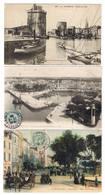 LA ROCHELLE LOT DE 12 CPA - La Rochelle