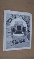 Pub Auto Berliet,usines A Lyon-Vénissieu - Advertising