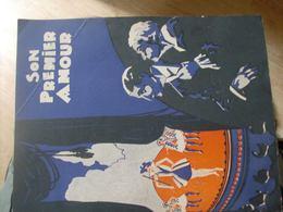 """Magazine Promotionnel """"Son Premier Amour"""" (vers 1920) (Mappemonde Film) - Magazines"""
