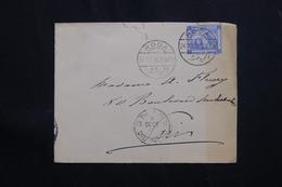 EGYPTE- Affranchissement Plaisant De Roda ( île Sur Le Nil ) Sur Enveloppe En 1910 Pour Paris Via Le Caire - L 62083 - Ägypten