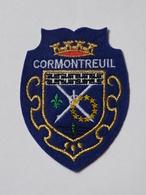 Ecusson à Coudre De Cormontreuil (51) - Ecussons Tissu