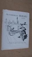 Pub Auto Berliet,illustrés Par René Vincent - Advertising