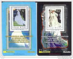 2003 - ITALIA  (21-22) - TESSERA FILATELICA  EUROPA - 6. 1946-.. Republic