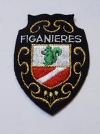 Ecusson à Coudre De Figanières (83) - Ecussons Tissu