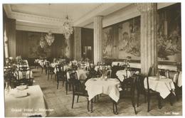 CPA SUEDE - HELSINGBORG - GRAND HOTEL - MATSALEN - Zweden