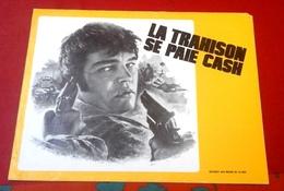 """Dossier De Presse """"La Trahison Se Paie Cash"""" 1975 Phil Karlson Joe Don Baker Conny Van Dyke - Publicité Cinématographique"""