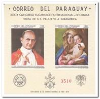 Paraguay 1968, Postfris MNH, Visit Pope Paul VI - Paraguay