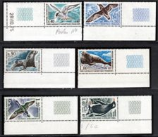 Terres Australes 1976 Yvert 55 / 60 ** TB Coin De Feuille - Terres Australes Et Antarctiques Françaises (TAAF)