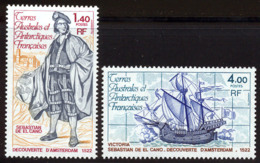 Terres Australes 1979 Yvert 84 / 85 ** TB Bord De Feuille - Terres Australes Et Antarctiques Françaises (TAAF)