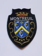 Ecusson à Coudre De Montreuil (93) - Ecussons Tissu