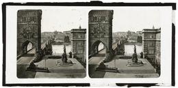 Glass Stereoview - PRAGUE - Stereoskope - Stereobetrachter