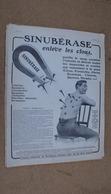 Pub Médicale,pharmacopée Sinubérase Enlève Les Clous,illustrés Par A.Hermann - Advertising