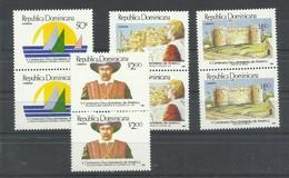 DOMINICANA  YVERT  1042/45   (PAREJA)  MNH  ** - Dominicaine (République)