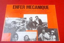 """Dossier De Presse """"Enfer Mécanique"""" 1977 Elliot Silverstein James Brolin Kathleen Lloyd John Marley Epouvante Horreur - Publicité Cinématographique"""