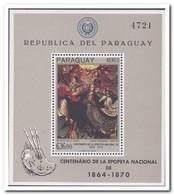 Paraguay 1967, Postfris MNH, Paintings - Paraguay
