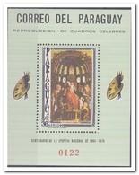 Paraguay 1966, Postfris MNH, Paintings - Paraguay