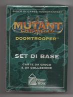 Mutant Chronicles Doomtrooper - Italia - Set Di Base Nuovo Incellophanato - Sammelkartenspiele (TCG, CCG)