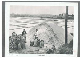 Les Marais Salants D.P. La Bretagne N°9 D'Avril 1951 Photo N°6 - Repro's