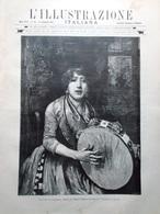 L'Illustrazione Italiana 27 Settembre 1891 Indemoniati Caravaggio Asmara Savoia - Avant 1900