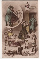 Humour : Le Poilu A Laissé à Chacun Son Petit Souvenir ( Les Poux ) écrite Le 16/09/16 - Guerra 1914-18
