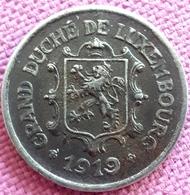 LUXEMBURG : SCHAARSE :25 CENTIMES 1919 IJZER KM 32 - Luxembourg