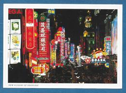 CINA CHINA SHANGHAI NANJING ROAD AT NIGHT 2004 N° 333 - China