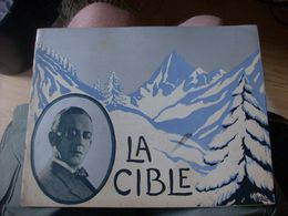 """Magazine Promotionnel """"la Cible"""" De Serge Nadejdine (1924) (Films Albatros) - Magazines"""