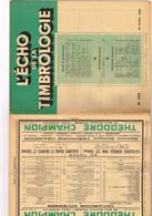 L'Echo De La Timbrologie N°1133 Etude Information Nouvelle émission Annonces Précurseur Timbre-taxe Aérienne Nouméa-Sydn - Français (àpd. 1941)