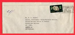 Kenia  1979   To Switzerland   (UNO Palais Des Nations  Geneve) - Kenia (1963-...)