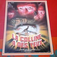 """Petite Affiche Cinéma """"La Colline A Des Yeux"""" Wes Craven Susan Lanier Robert Houston Martin Speer 1977 - Publicité Cinématographique"""