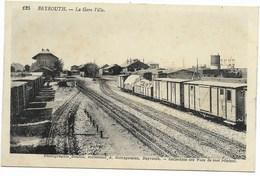 BEYROUTH-La Gare Ville...  Animé  Train - Lebanon
