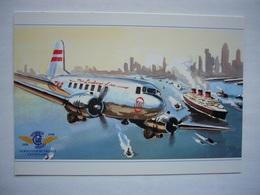 Avion / Airplane / TWA / Douglas DC-3 / The Lindbergh Line - 1946-....: Ere Moderne