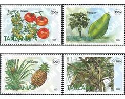 Ref. 187920 * MNH * - TANZANIA. 1995. FRUITS OF TANZANIA . FRUTAS DE TANZANIA - Tansania (1964-...)