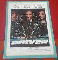 """Dossier De Presse """"Driver"""" Walter Hill Ryan O'Neal Bruce Bern Isabelle Adjani 1978 - Publicité Cinématographique"""