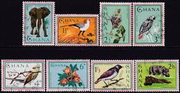 GHANA 1964 SG 357-64a Compl.set+2m/s Used Fauna - Ghana (1957-...)