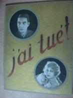 """Magazine Promotionnel """"j'ai Tué"""" De Roger Lion (1924) (Exclusivité Jean De Merly) - Magazines"""