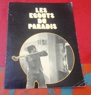 """Dossier De Presse """"Les Egouts Du Paradis""""  José Giovanni Michel Audiard Francis Huster Rôle Albert Spaggiari - Publicité Cinématographique"""