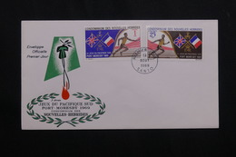 NOUVELLE HÉBRIDES - Enveloppe FDC En 1969 - Jeux Du Pacifique Sud - L 62110 - FDC