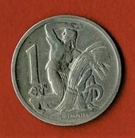 TCHECOSLOVAQUIE / 1 KORUNA / 1929 - Cecoslovacchia